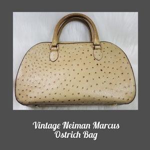 Vintage Neiman Marcus Ostrich Bag